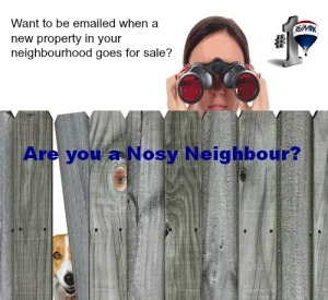 Curious about neighbourhood listings?  Free email service.